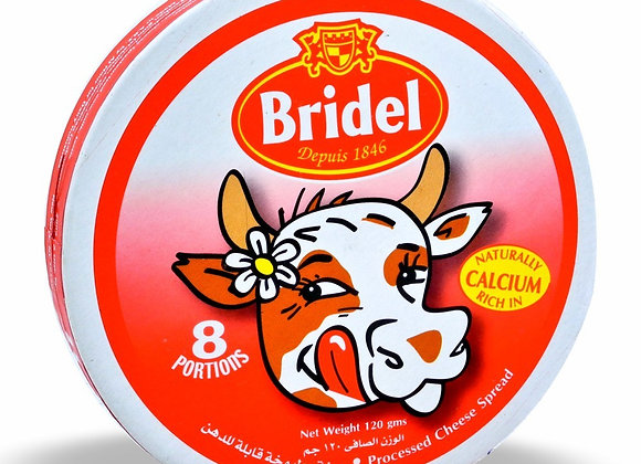 Processed Cheese Plain BRIDEL  (8 portions per packet)