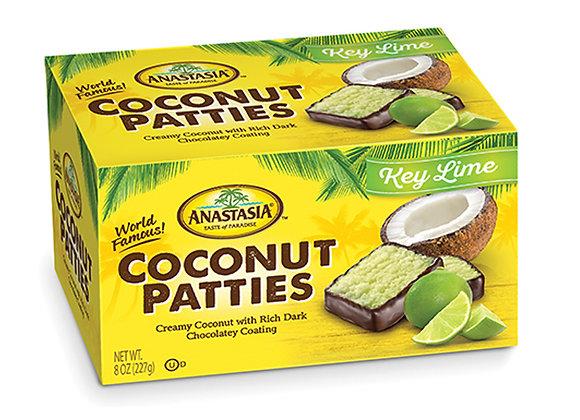 Key Lime Coconut Patties ANASTASIA