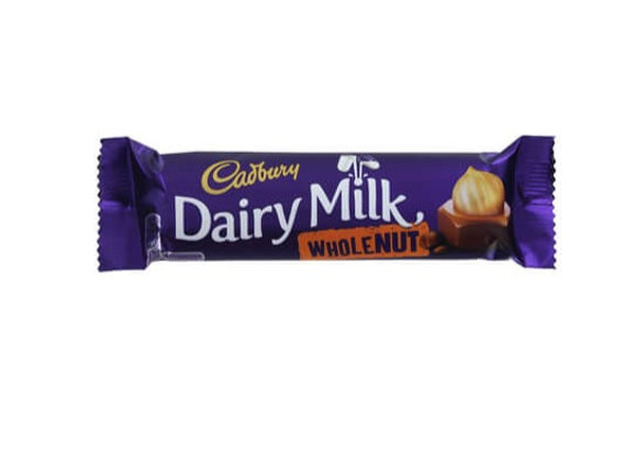 Cadbury Choc Wholenut 45g