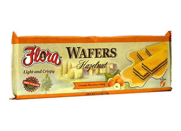 Hazelnut wafer FLORA