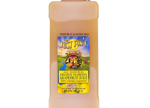 100% Pure Florida Frozen Grapefruit Juice NATALIE'S - Kosher