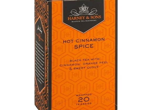Hot cinnamon spice Tea HARNEY & SONS (20 teabags per box)