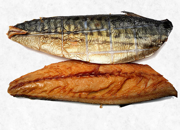 Scottish Smoked Mackerel weighed by the KG