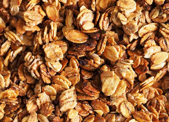 Honey Granola weighed by the KG