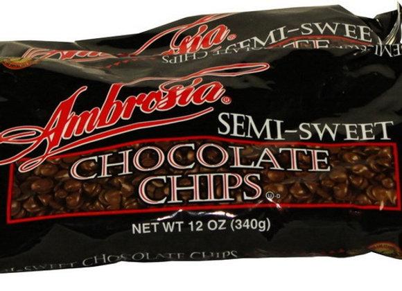 Semi-sweet Mini Chips Baking Chocolate AMBROSIA