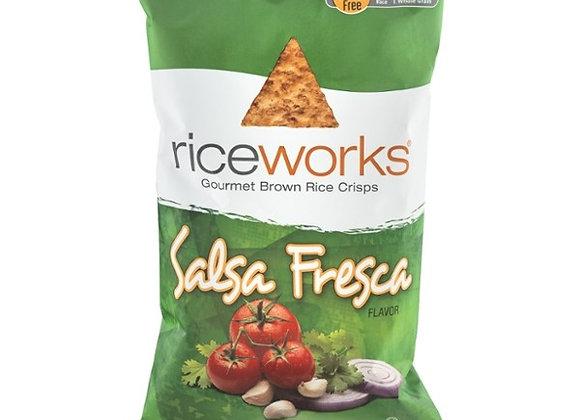 Salsa Fresca Rice Chips RICEWORKS