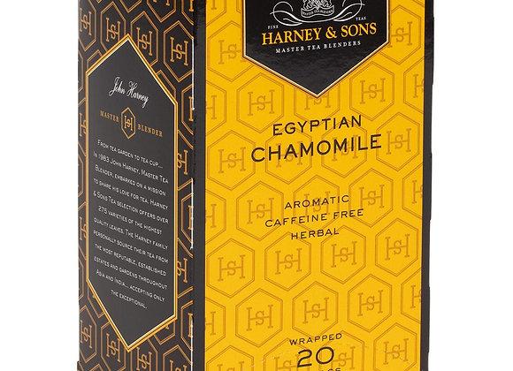 Herbal Egyptian Chamomile Tea HARNEY & SONS (20 teabags per box)
