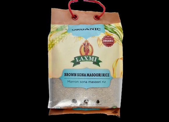 Organic Sona Masoori Brown LAXMI