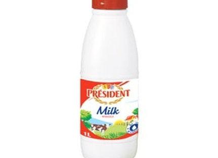 Whole Milk Bottle PRESIDENT