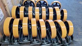 rodajas para carga industrial