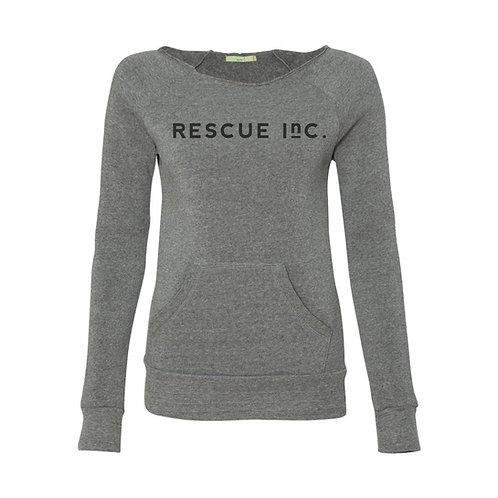 Women's Eco Fleece Sweatshirt by Alternative Apparel