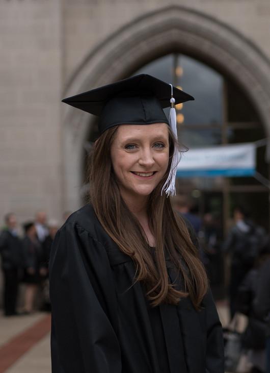 Moody Bible College graduation, graduate, chicago
