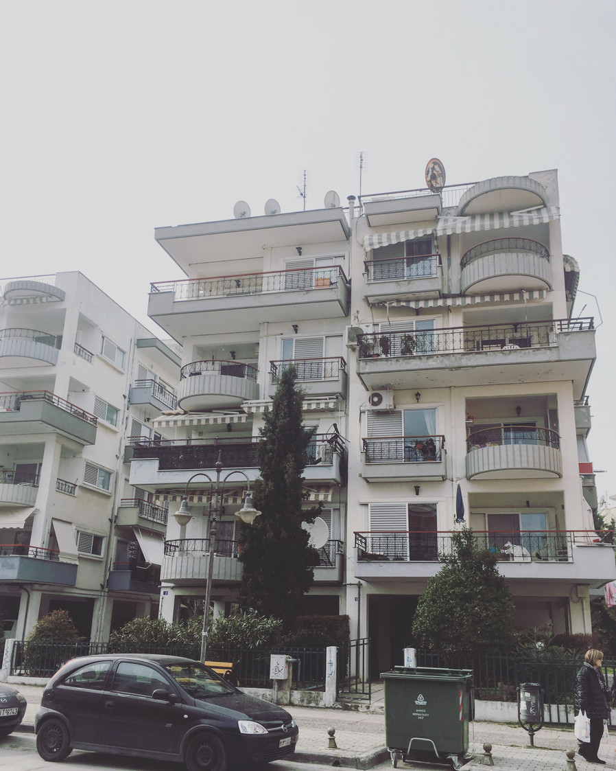 On Greek Soil- The Destination