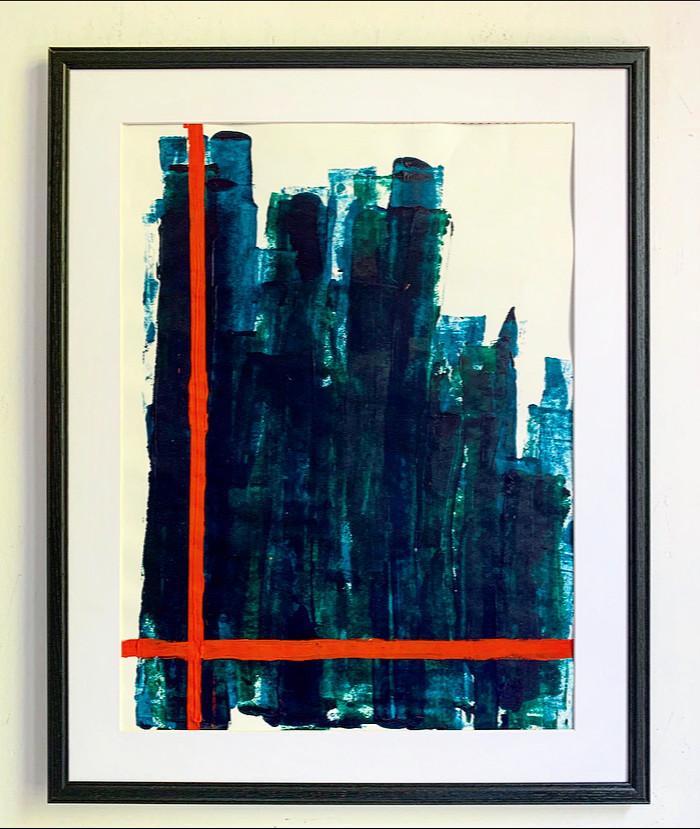 Blue 4    Sold