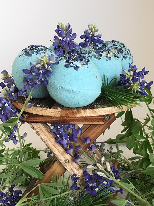 Texas Bluebonnet Bath Bomb
