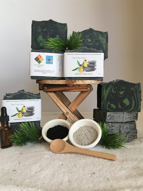 Tea Tree and Activated Charcoal Bar Soap