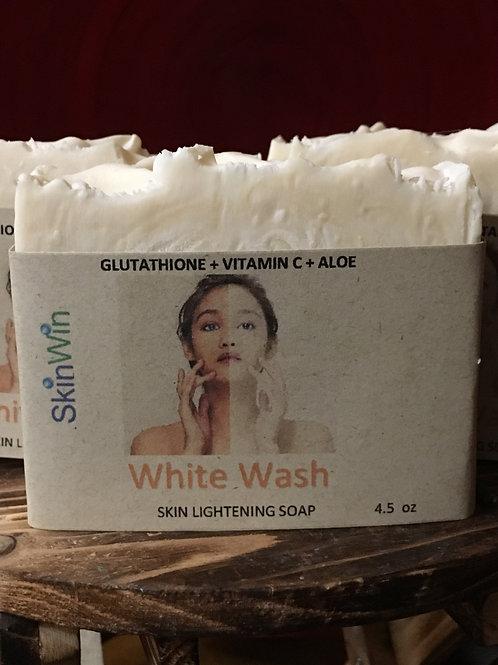 Pure L-GLutathione, Ascorbic Acid & Aloe Vera Facial/Body Soap (Whitening Soap)