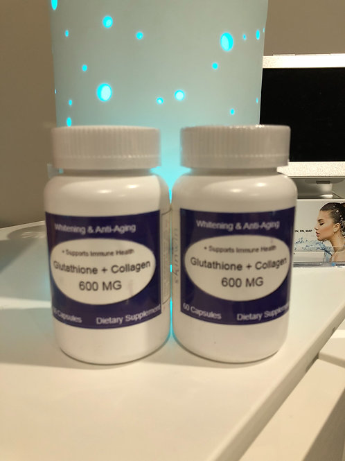 Glutathione + Collagen + CoQ10 Dietary Supplement