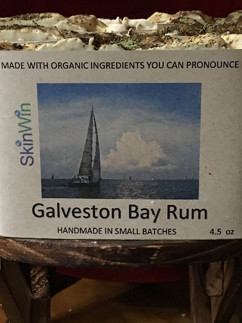 Galveston Bay Rum Bar Soap