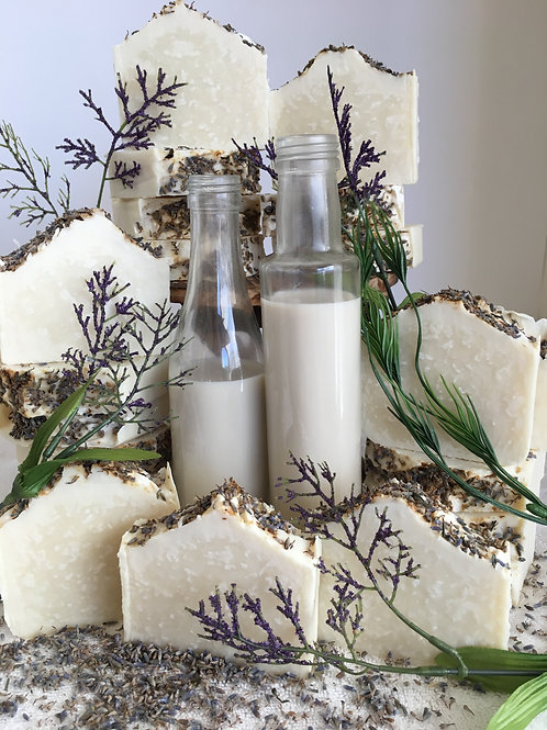 Lavender Almond Milk Bar Soap
