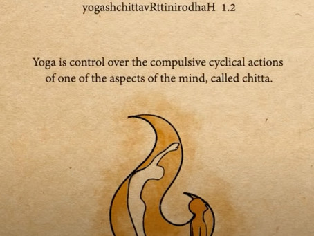 Yoga Stills the Patterns of Consciousness