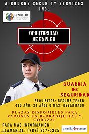 RECLUTAMIENTO GUARDIAS DE SEGURIDAD - AI