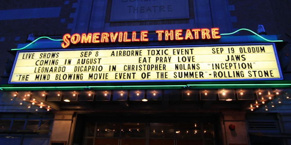 Sommerville Theatre Screening