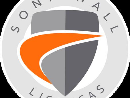 Ativação de licenças Sonicwall