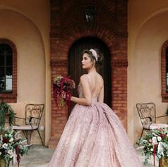 Florals & Wedding dress