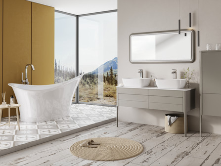 Cubico introduces retro, minimalistic bathroom furniture at kbb Birmingham