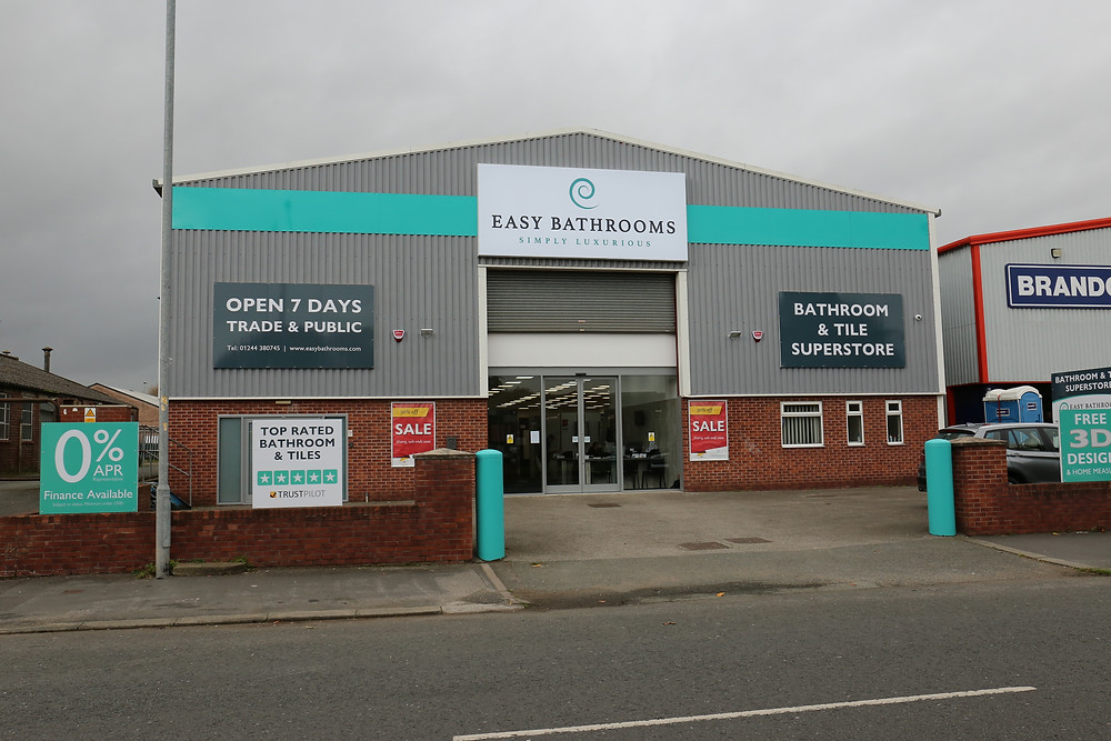 Easy Bathrooms launches showroom in Chester | PR and marketing agency, Huddersfield