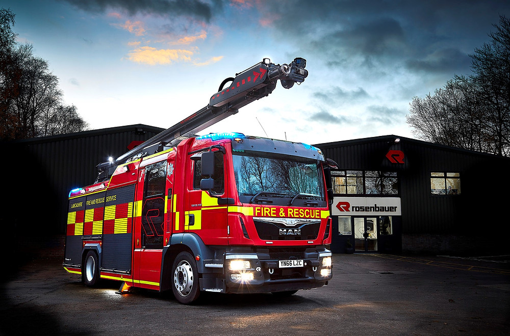 Rosenbauer UK - PR and marketing agency, Huddersfield - Acomm