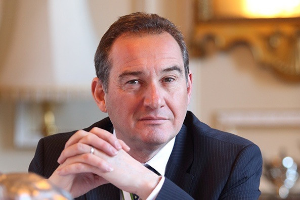 David Grey, MBE, chairman of O&H