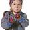 Thumbnail: Baby Alpaka Baby Fausthandschuh AQUARELL