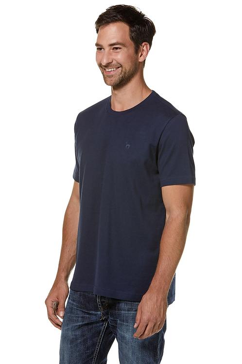 Royal Alpaka und Pima Baumwoll Rundhals T-Shirt für Herren