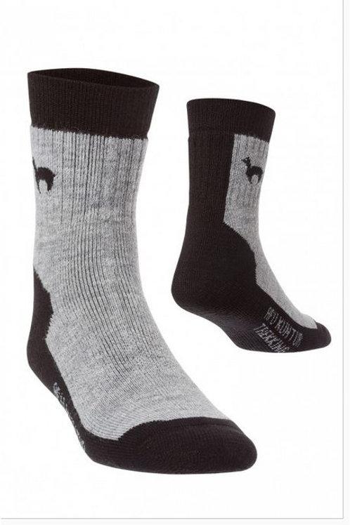 Alpaka Trekking-Socke Outdoor-/Wanderstrumpf für Damen und Herren