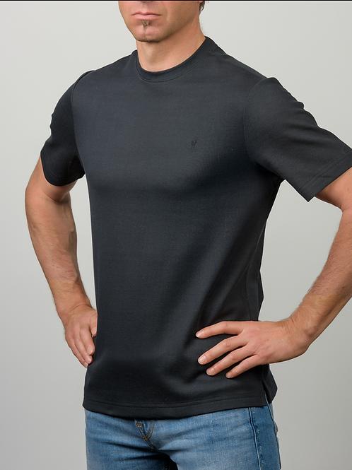 Baby Alpaka und Pima Baumwoll Rundhals T-Shirt für Herren