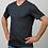 Thumbnail: Baby Alpaka und Pima Baumwoll V-Shirt für Herren