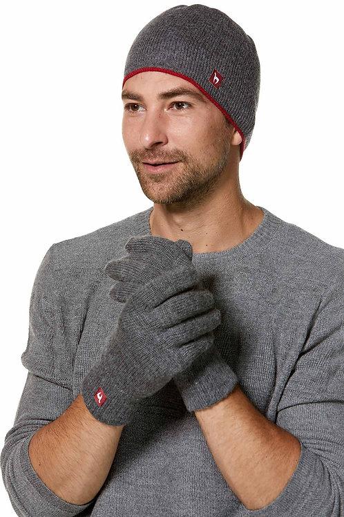 Alpaka Fingerhandschuhe gefüttert für Damen und Herren
