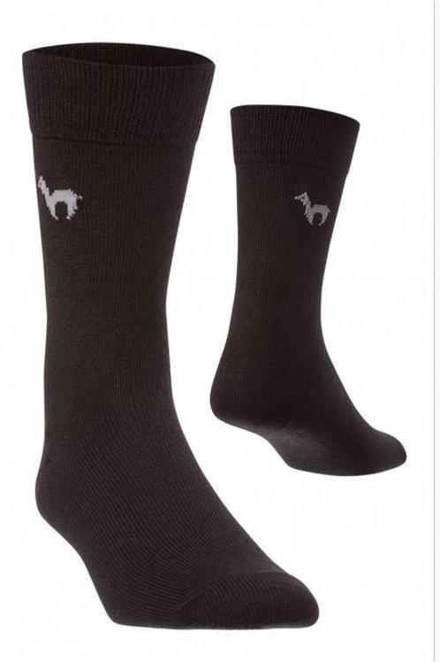 Alpaka Business Socke elegante Stricksocke für Damen und Herren