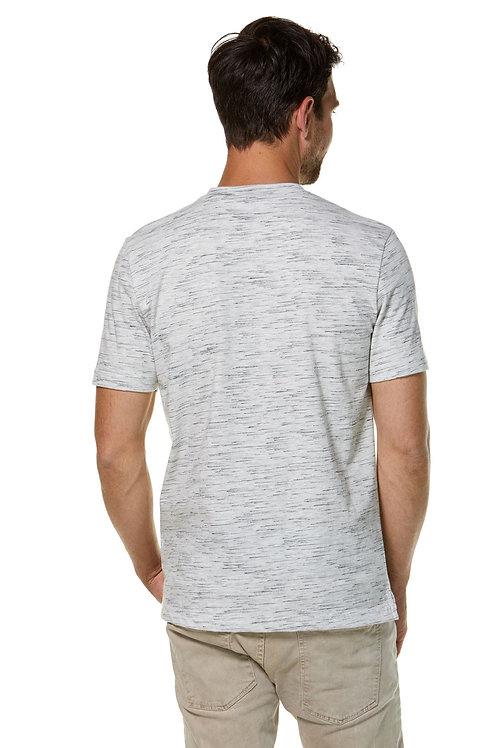 Royal Alpaka und Pima Baumwoll T-Shirt V-Neck für Herren