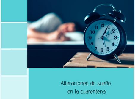 Alteraciones de sueño en la cuarentena