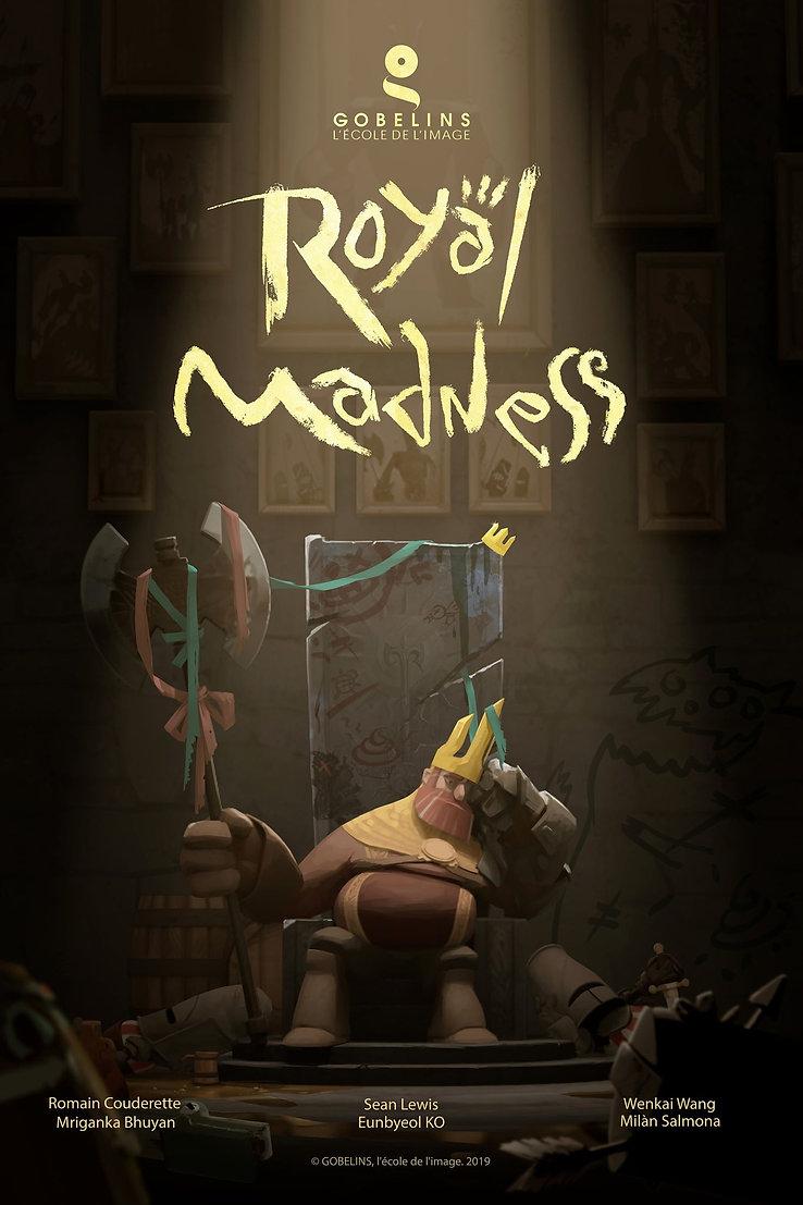 Royal Madness Poster