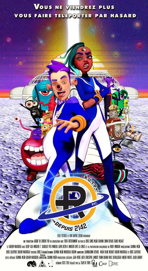 Affiche Film RUTP Animation Cartoon Movie