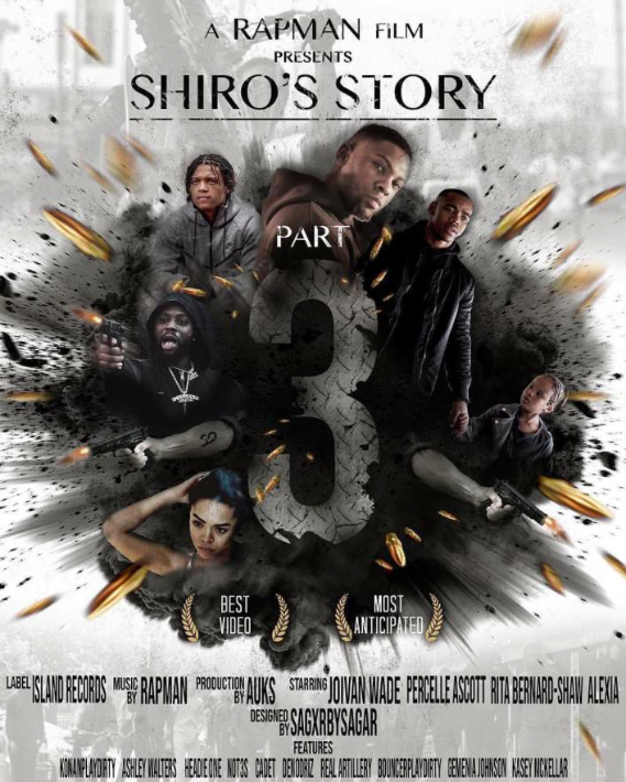 Shiro's Story Part 3 Unofficial Poster