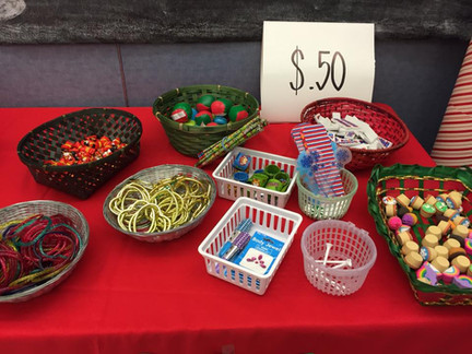 Examples of $.50 items