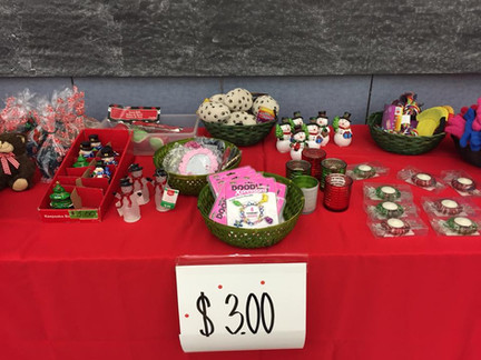 Examples of $3.00 items