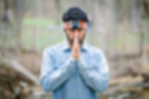 Praying photoshoot