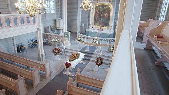 Begravelse Nedre Eiker kirke.jpg