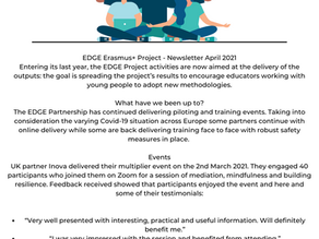 Project EDGE April Newsletter
